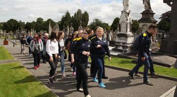 Kids from both sides of border taken on pilgrimage to the Somme