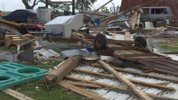 national weather service confirms two tornadoes in huntington county
