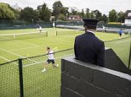 wimbledon stars and royal fans will be protected by a special anti-stalking police unit