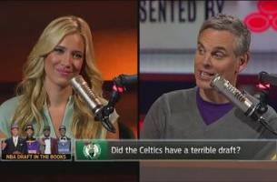 larry bird had a much better draft than danny ainge - 'the herd'