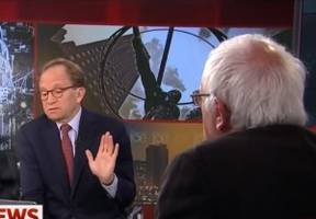 Bernie Sanders Snaps at Morning Joe Bro For Comparing Him to Donald Trump