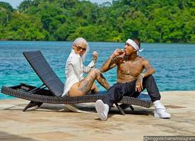 Tyga Posts Photo With Sexy Model Amina Blue After Kylie Jenner and PARTYNEXTDOOR's Steamy Video