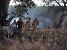 California Wildfire Wrap: 2 Killed as 4,500 Fight 6 Large Fires