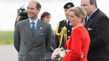 Royals in Canada: Prince Edward and Sophie tour Prairies
