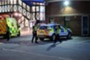Ambulance service 'sorry' for delay after  town  stabbing