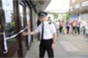 westcliff residents welcome the opening of a new helpful hub -...