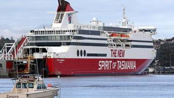 Search for man overboard in Bass Strait