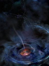 Huge Black Hole Wakes Up, Devours A Star And Emits X-rays