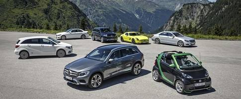 daimler could choose a new brand name for its electric car range
