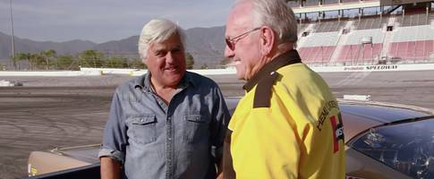 Jay Leno Meets Childhood Dream Car, They Crash Together