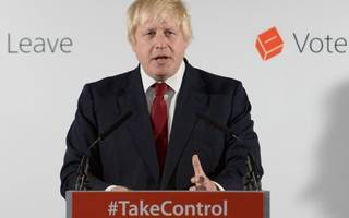 boris johnson emerges, explains what the only change as a result of brexit will be