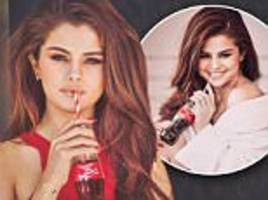 Selena Gomez looks incredible while sipping on a Coca Cola in Instagram picture
