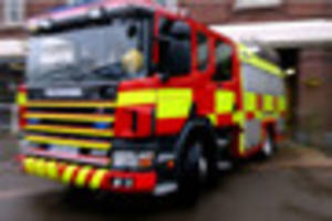 three trapped after two-vehicle crash at old dalby, near melton