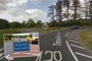 Crash shuts mile long stretch of road in South East Cornwall