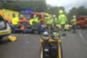 Update: One in hospital following South East Cornwall crash