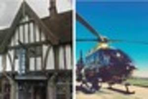 Reports of intruders on Oxted cinema roof