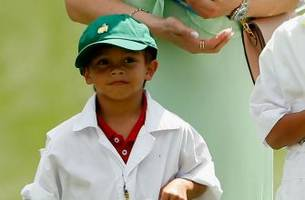 Tiger Woods' 7-year-old son Charlie finishes T2 at junior golf event