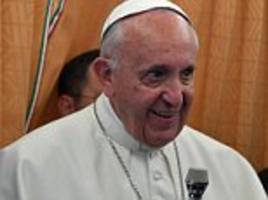 Pope Francis says the Catholic Church should apologize to gay people