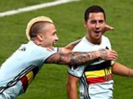 Eden Hazard can join Lionel Messi and Cristiano Ronaldo in a 'completely different bracket' after sublime display for Belgium against Hungary, says Vincent Kompany