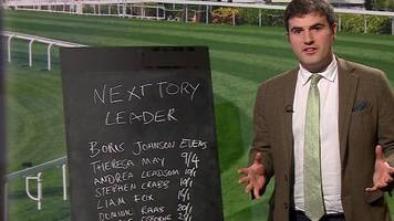 Conservative leadership: Bookmaker on 'two-horse race'