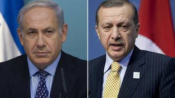 israel and turkey end six-year stand-off on gaza flotilla killings