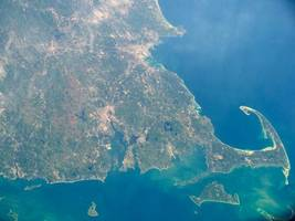 space station photo captures cape cod in summer glory