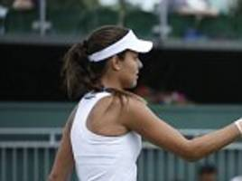 former world no 1 ana ivanovic dumped out of wimbledon by qualifier on day one