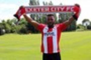 exeter city re-sign defender troy archibald-henville