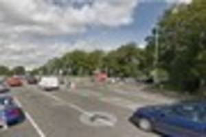 one person rescued and taken to hospital after two-car crash in...