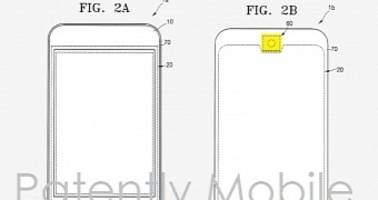 Samsung Patents Round-Shaped Home Screen Resembling iPhone Design