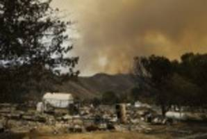 Firefighters Gain Some Control of Deadly California Wildfire