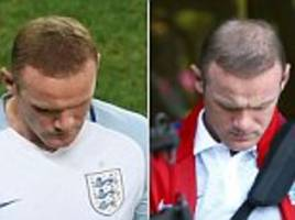 as england's flops slink home, how rooney & co were distracted by pouting wags