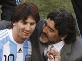 Diego Maradona pleads with Lionel Messi not to retire from International football following his Copa America revelations