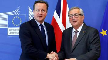 previewing today's main event: david cameron arrives in brussels