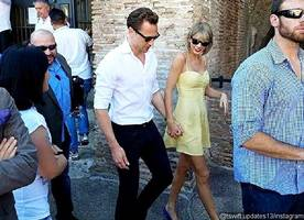 Taylor Swift Tells Her Friends She's 'in Love' With Tom Hiddleston as Couple Enjoy Roman Holiday