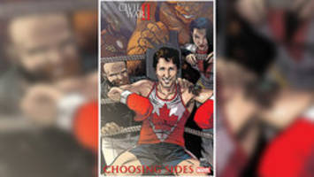 trudeau joins canadian superheroes on marvel's 'civil war ii: choosing sides' cover