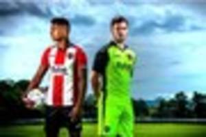 exeter city clarify the colour of their away kits for 2016/17