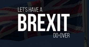 brexit do-over petition subject to an automated bot attack