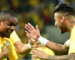 douglas costa and 37-year-old prass join neymar on brazil's olympic squad