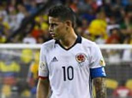 chelsea and manchester city battling with psg for real madrid's james rodriguez