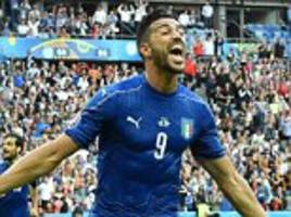 graziano pelle proves traditional centre-forwards still have a place in football as italy striker leads the line at euro 2016