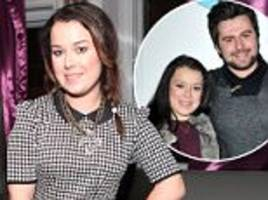 tracy beaker star dani harmer welcomes first child with boyfriend simon brough