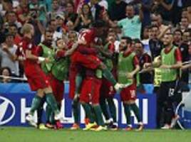 Poland 1-1 Portugal (3-5 on penalties):Ricardo Quaresma the hero again as winger keeps his cool from the spot to send Cristiano Ronaldo and Co into the Euro 2016 semi finals