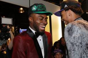 Celtics No. 1 pick Jaylen Brown dunked on a kid who said Ben Simmons is better