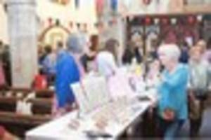 Fete is a success in  face of bad weather
