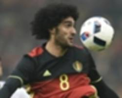 'fellaini deserves to be playing non-league football' - twitter reacts to belgium defeat