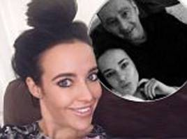 Stephanie Davis' dad takes to Twitter to show his excitement about becoming a grandfather