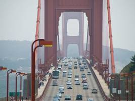 golden gate bridge evening commute lanes tweaked to ease congestion