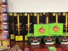 video: 600 pounds of illegal fireworks confiscated by peninsula police