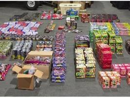 duo, one from sunnyvale, arrested, suspected of selling illegal fireworks